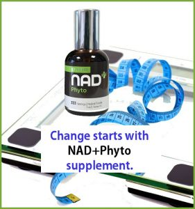 Change starts with the NAD+Phyto supplement